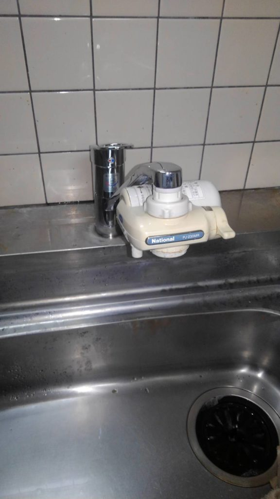 品川区 水栓交換工事