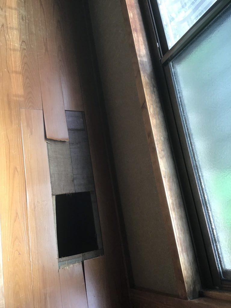 川崎市中原区 フローリング張り工事