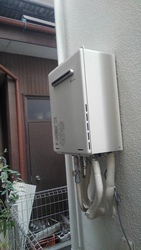 川崎市幸区 給湯器交換工事