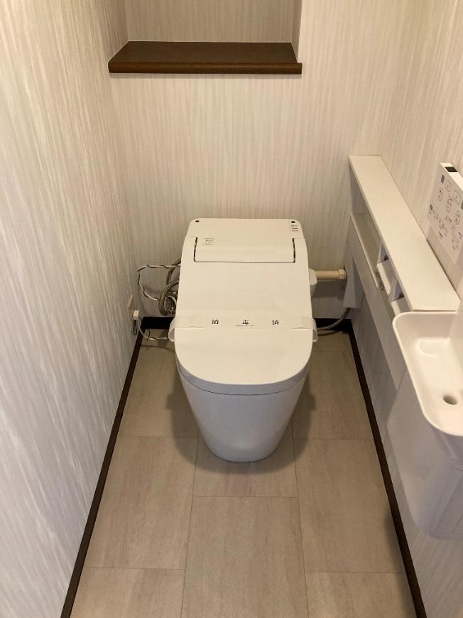 世田谷区 トイレ交換工事を行いました!